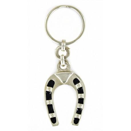 Porte clés fer à cheval. Fabrication Artisanale Française