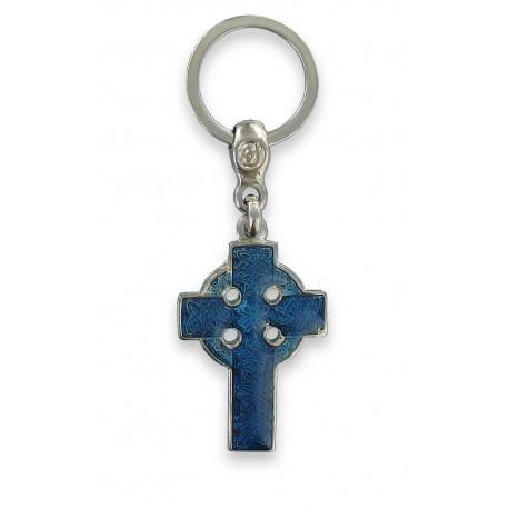 Porte clés La Croix Celtique de Bretagne. Fabrication Artisanale Française.