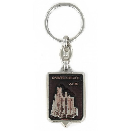 Porte clés Cathédrale Sainte-Cécile d'Albi. 81 Tarn. Made In France
