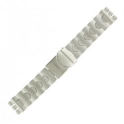Bracelet de Montre 20mm Adaptable montre SWATCH en Acier inox Rowi