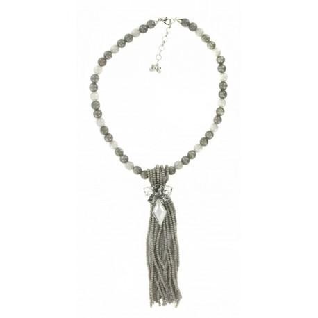 Collier Fantaisie Perles & Cristaux Swarovski
