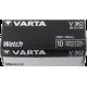 Pile de montre bouton 362 (SR721SW) SR58 1.55V Varta