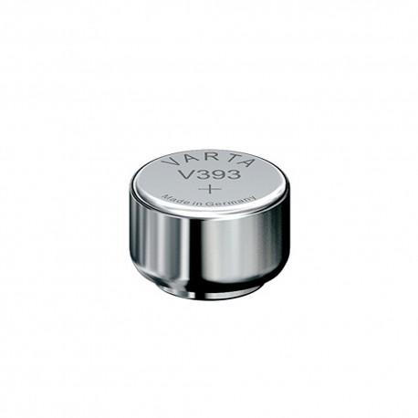 Pile de montre bouton 393 (SR754W) SR48 1.55V Varta