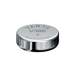 Pile de montre bouton 386 (SR43W) SR43 1.55V Varta