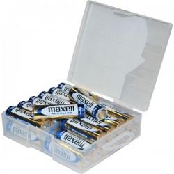 Pack de 24 Piles AA LR06 1.5V MN1500 Maxell Boite plastique