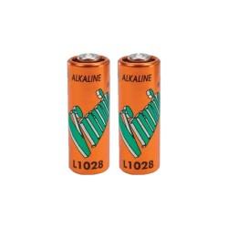 Lot de 2 Piles alcaline A23 L1028 MN21 12 Volts Vinnic