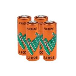 Lot de 4 Piles alcaline A23 L1028 MN21 12 Volts Vinnic