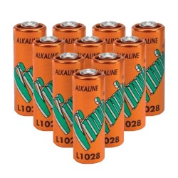 Lot de 10 Piles alcaline A23 L1028 MN21 12 Volts Vinnic