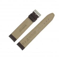 Bracelet montre 22mm Marron Long en Cuir de Veau véritable EcoCuir Fabrication Artisanale