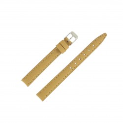 Bracelet montre 12mm Tierra en Cuir de Veau véritable EcoCuir Fabrication Artisanale