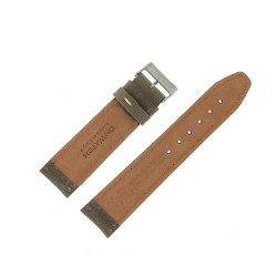 Bracelet montre Cuir de veau Nevada Artisanal