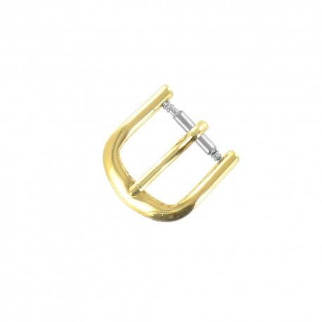 Boucle de remplacement 10mm en alloy doré pour bracelet de montre
