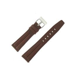 Bracelet montre cuir de Buffle Treck