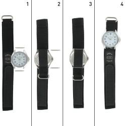 Bracelet de montre en Nylon Scratch fermeture type Velcro