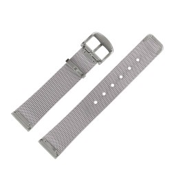 Bracelet montre Milanais 18mm en acier inoxydable