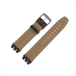 Bracelet montre Swatch Chrono Irony Cuir