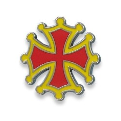 Magnet Croix Occitane symbole de l'Occitanie Made In France