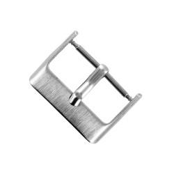 Boucle de Remplacement 20mm en Acier Brossé pour Bracelet de Montre