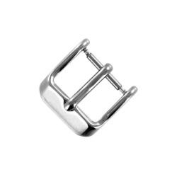 Boucle à Ardillon 14mm de Remplacement en Acier Inoxydable pour Bracelet de Montre