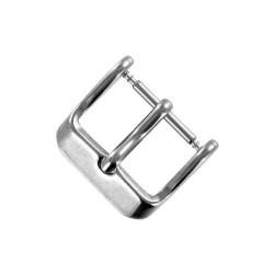 Boucle à Ardillon 16mm de Remplacement en Acier Inoxydable pour Bracelet de Montre