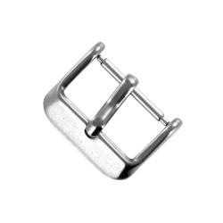 Boucle à Ardillon 18mm de Remplacement en Acier Inoxydable pour Bracelet de Montre