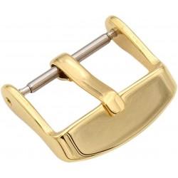 Boucle à Ardillon 20mm de Remplacement en Acier Inox Doré pour Bracelet de Montre