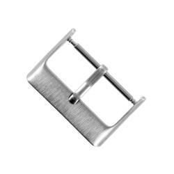 Boucle à Ardillon 22mm de Remplacement en Acier Brossé pour Bracelet de Montre