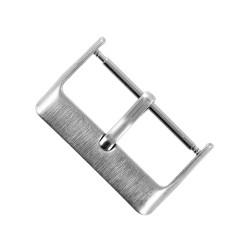 Boucle de Remplacement 24mm en Acier Brossé pour Bracelet de Montre