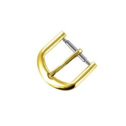 Boucle à Ardillon 12mm de remplacement en Métal Alloy Doré pour Bracelet de Montre