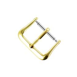 Boucle de remplacement 18mm en alloy doré pour bracelet de montre