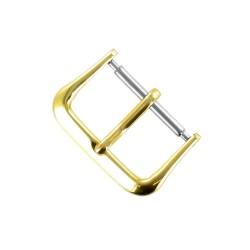 Boucle Fermoir 16mm en Alloy Doré pour Bracelet de Montre