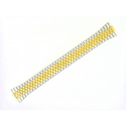 Bracelet Montre 15-20mm en Acier Bicolore Extensible élastique FixoStar