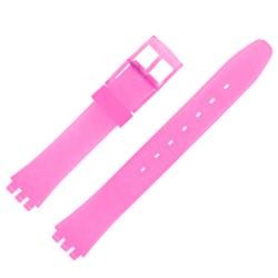 Bracelet de Montre 12mm Mauve Adaptable pour montre Swatch P38 Ladies