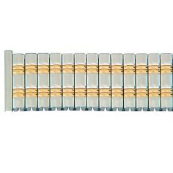 Bracelet de Montre 18mm Acier Bicolore Entre Corne Télescopiques ROWI FIXOFLEX