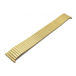 Bracelet de Montre 22mm Gold HiTec Acier Elastique FixoFlex