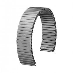 Bracelet de Montre 18mm Titane Extensible Elastique FixoFlex
