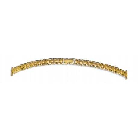 Bracelet de montre 12mm en Acier Gold Inoxydable Rowi Made In Germany