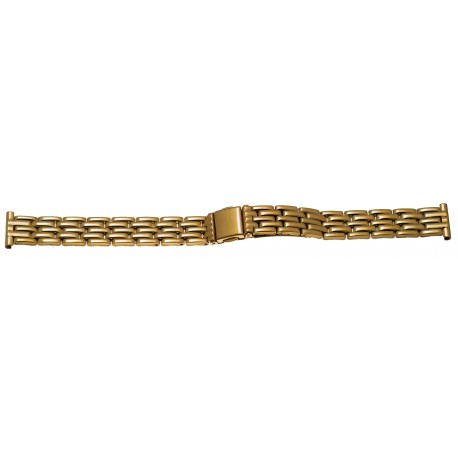 Bracelet de montre 14mm en Acier Gold Inoxydable Rowi Made In Germany