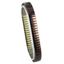 Bracelet Fantaisie en Acier Elastique Acier Cuivré Rowi Fixoflex Made In Germany