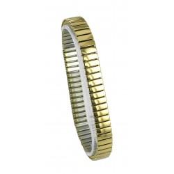 Bracelet Fantaisie en Acier Elastique Gold Rowi Fixoflex Made In Germany