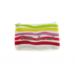 Porte Monnaie Little Marcel Polyester à Motifs Multicolores