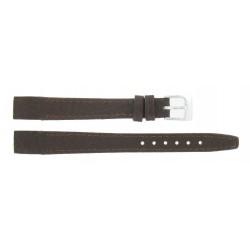 Bracelet 12mm Marron pour Montres à Anses Soudées en Cuir Véritable de Buffle