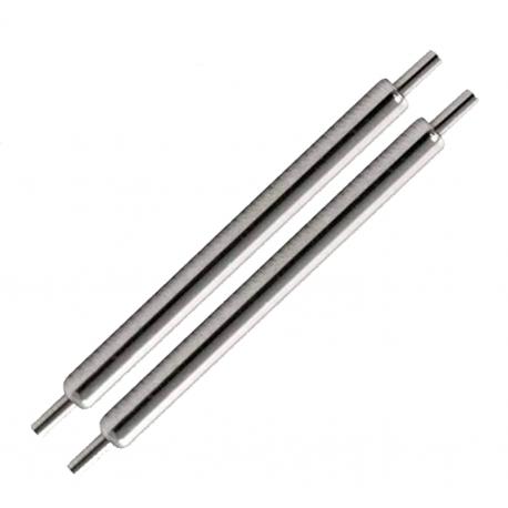 Lot de 2 Barrettes de 19mm Ressorts Pompes Anses Spring Bar Diamètre 1.5mm