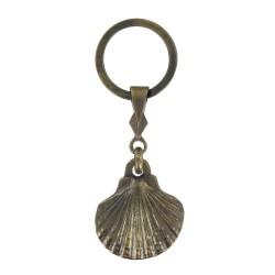 Porte clés Coquille des Pelerins de Saint Jacques de Compostelle