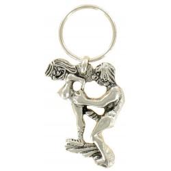 Porte clés Coquin Erotique Sexy Kamasutra en Métal
