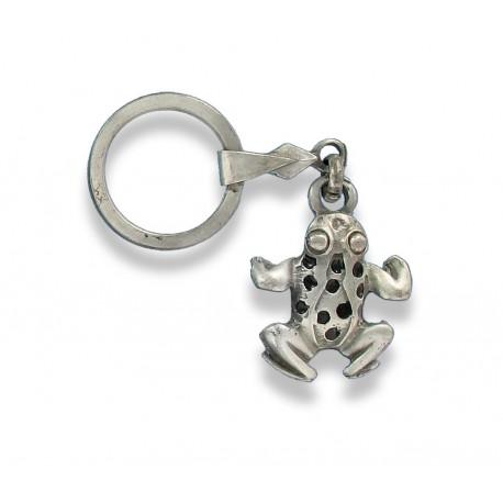 Porte clés grenouille. Fabrication Artisanale Française.