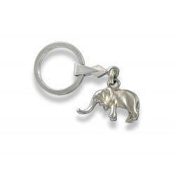 Porte clés éléphant. Fabrication Artisanale Française.